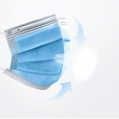 3-Ply Medical Disposable Mask ≥95% (YY/ T 0969-2013)