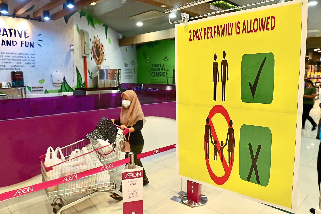 Malls in Selangor have opened shop