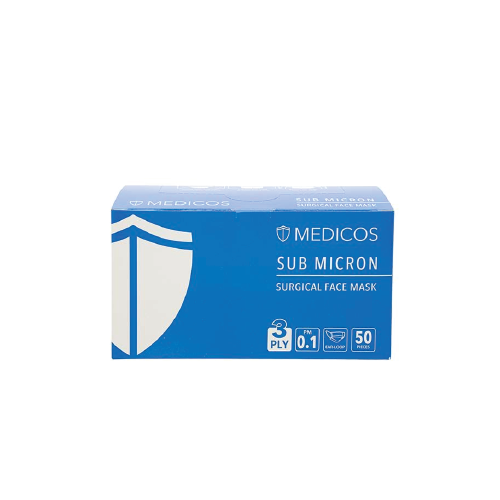 Medicos 3ply Blue Surgical Face Mask